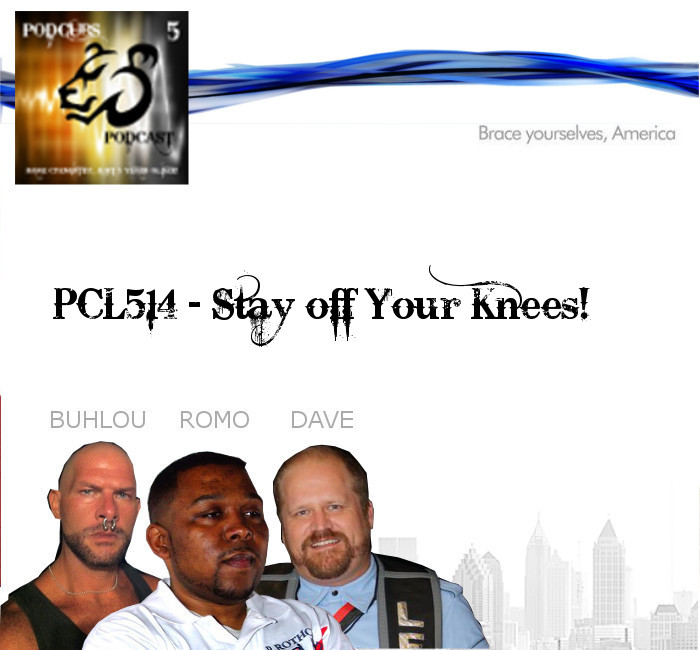 PCL514 – Stay off your knees!